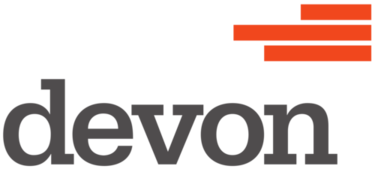 Logo. Devon energy